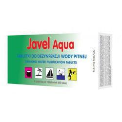 Tabletki do uzdatniania wody Javel Aqua 8,5 mg