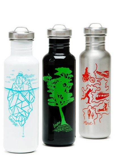 BUTELKA KLEAN KANTEEN Kanteen® Classic Graphics Collection 800ml/27oz Stainless Loop Cap