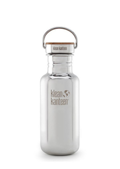 BUTELKA KLEAN KANTEEN REFLECT 532ml/18oz Bamboo Cap